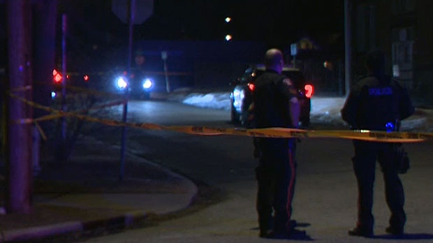 A plainclothes officer shot and killed a suspect who allegedly confronted him late Monday night in Bridgeland.