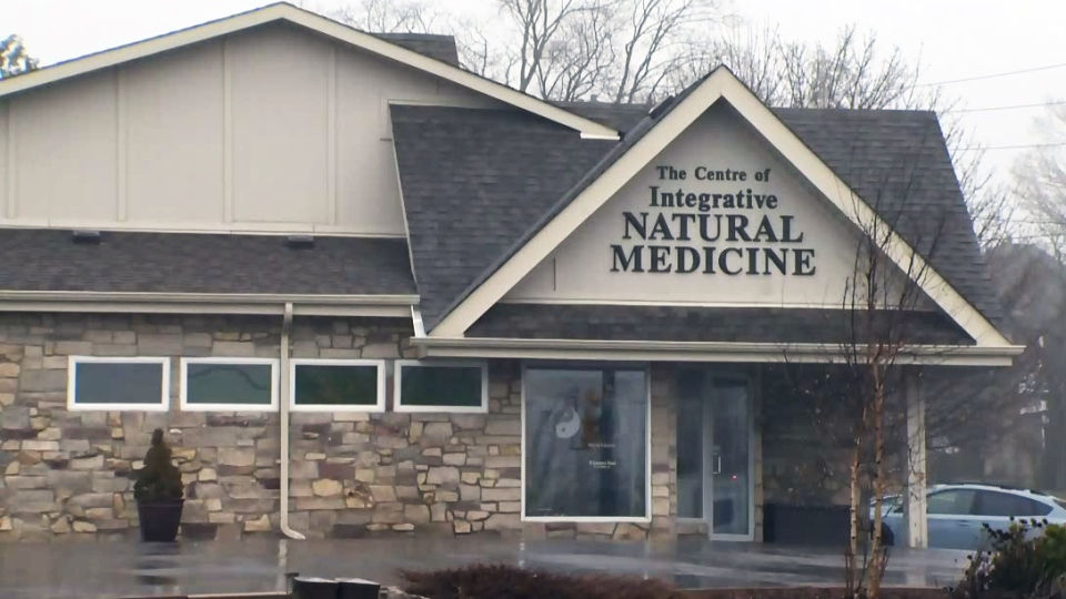 The Centre of Integrative Natural Medicine in Morriston is pictured on Thursday, April 12, 2018.