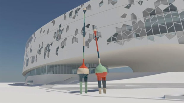 Art Pieces Unveiled For Calgary S New Central Library