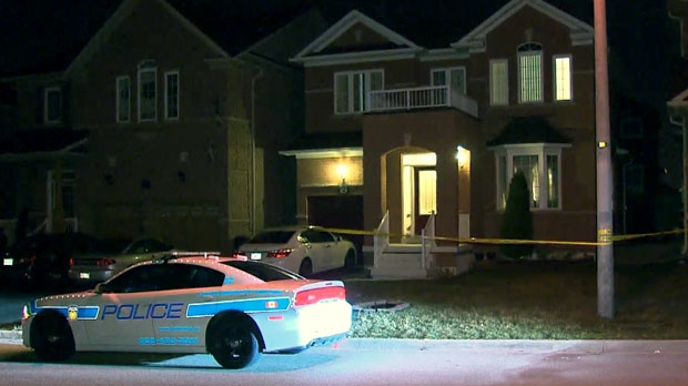 Peel Regional Police are investigating a double shooting in Brampton.