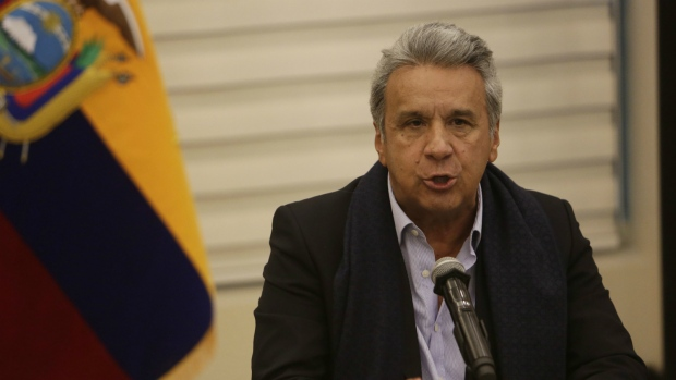 Ecuador president discusses journalist kidnapping