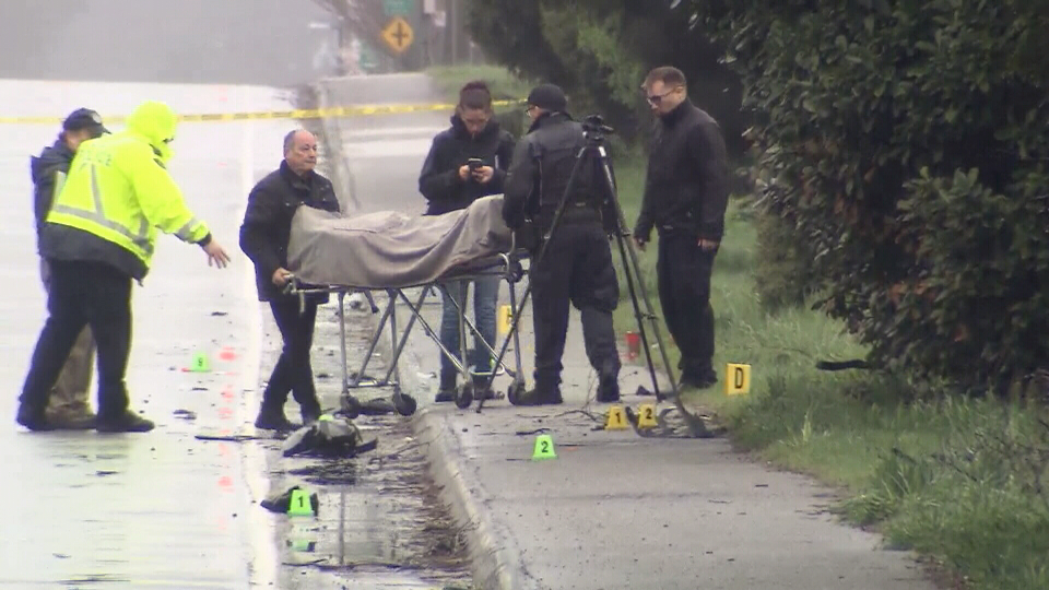 Police are investigating a fatal crash on the Lougheed Highway in Maple Ridge.