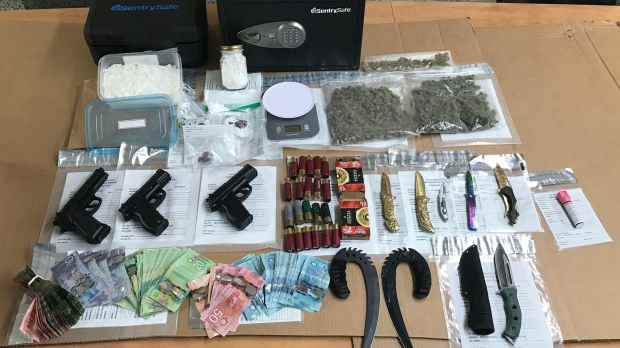 Drugs seized