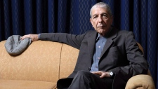 Leonard Cohen sits for a portrait in Toronto on February 4, 2006. THE CANADIAN PRESS/Aaron Harris