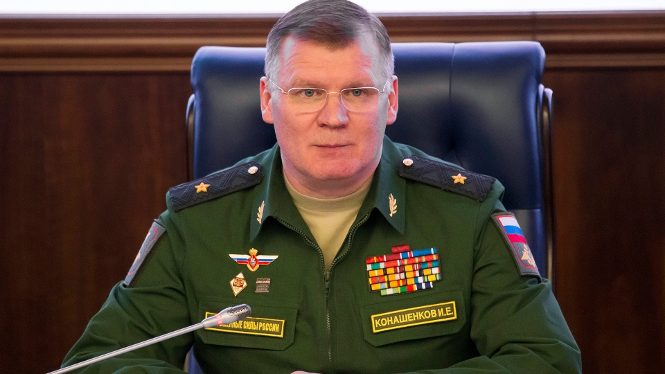 Russian Defense Ministry spokesman on Syria attack