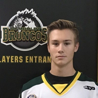 Humboldt Broncos player Jacob Leicht is shown in an undated team photo. (THE CANADIAN PRESS/HO/Saskatchewan Junior Hockey League)