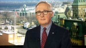Former national security adviser Richard Fadden on CTV's Question Period.