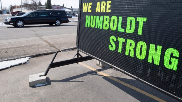 Jacob Leicht funeral in Humboldt, Sask.