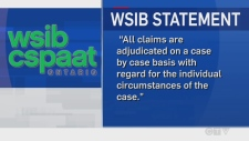 WSIB Ontario statement