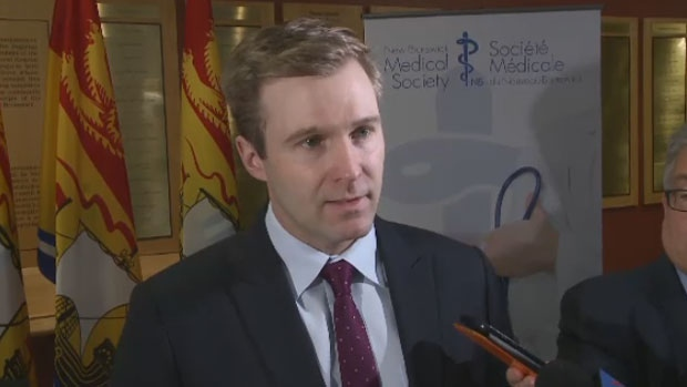 Premier Brian Gallant was in Saint John to announce that government plans to hire 25 new medical specialists Friday, April 13, 2018.