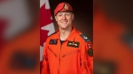 Death result of tangled parachute: RCAF