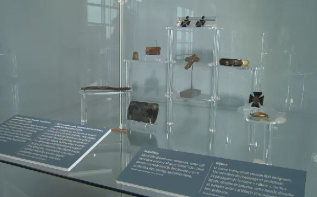 A new exhibit at the Canadian Museum of Immigration features artifacts and stories from the SS Atlantic disaster.