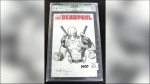 One-of-a-kind Deadpool comic gone