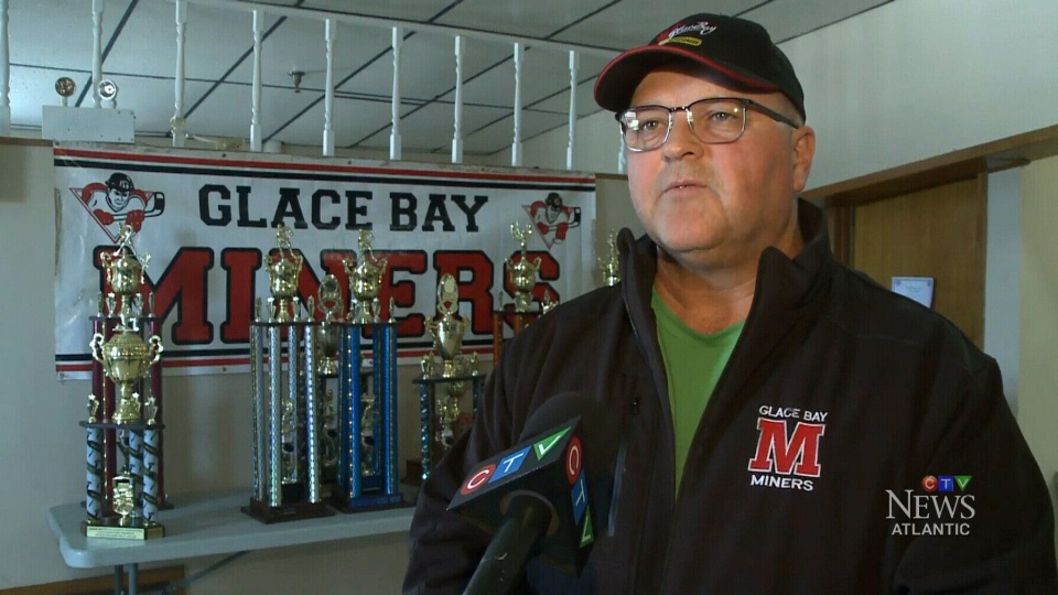 Glace Bay Minor Hockey Association President James Edwards speaks to CTV Atlantic