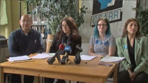 Taboada and a group of similarly frustrated parents sought the help of the Centre for Research-Action on Race Relations (CRARR) to help address what they believe to be systemic discrimination within Quebec's health care and education systems. (CTV Montreal)