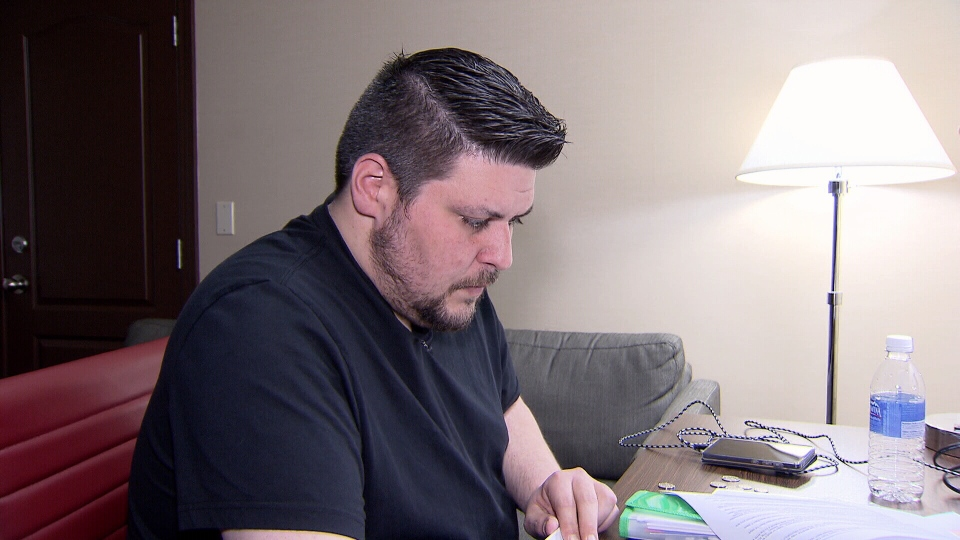 Brandon Fielding has another hearing with the Residential Tenancy Branch scheduled for April 30 to decide what, if any, financial damages his landlord owes.