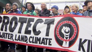 CTV National News: Pipeline opponents react