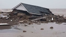 Flooding near Leamington