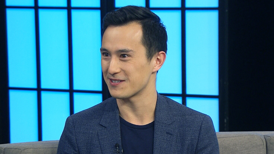 Figure Skater Patrick Chan appears on CTV's Your Morning, Monday, April 16, 2018.