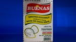 A recall was issued for Buenas brand grated coconut due to salmonella contamination on Sun., April 15, 2018. (Photo: Canadian Food Inspection Agency)