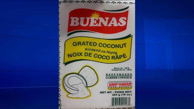Buenas grated coconut recalled