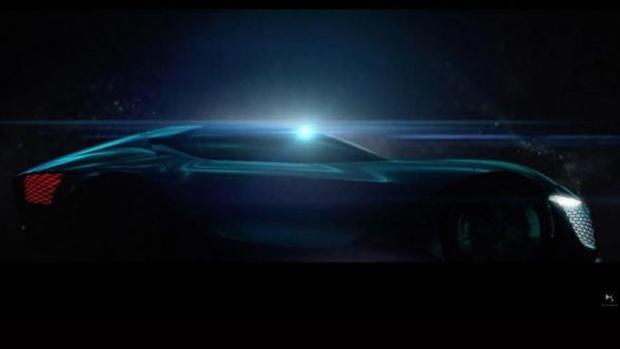 DS X E-Tense concept teaser image