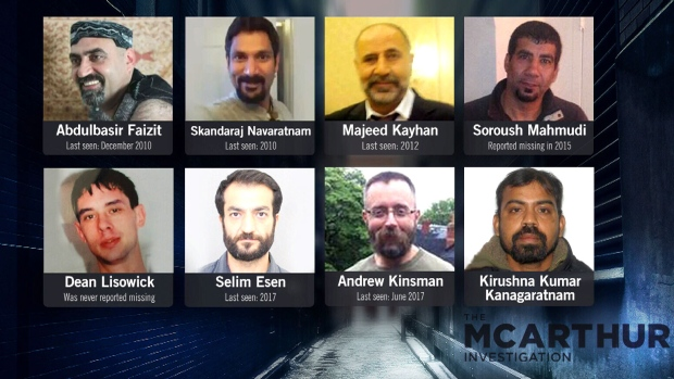 Alleged victims of Bruce McArthur