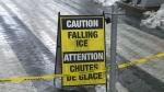 CN Tower, falling ice,
