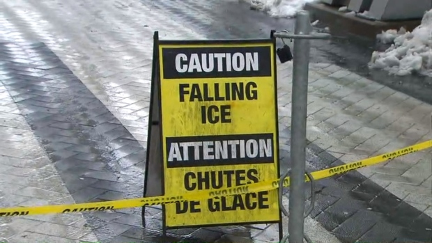 CN Tower, Nearby Buildings Remain Closed Due to Ice