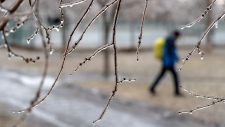 Freezing rain in Montreal