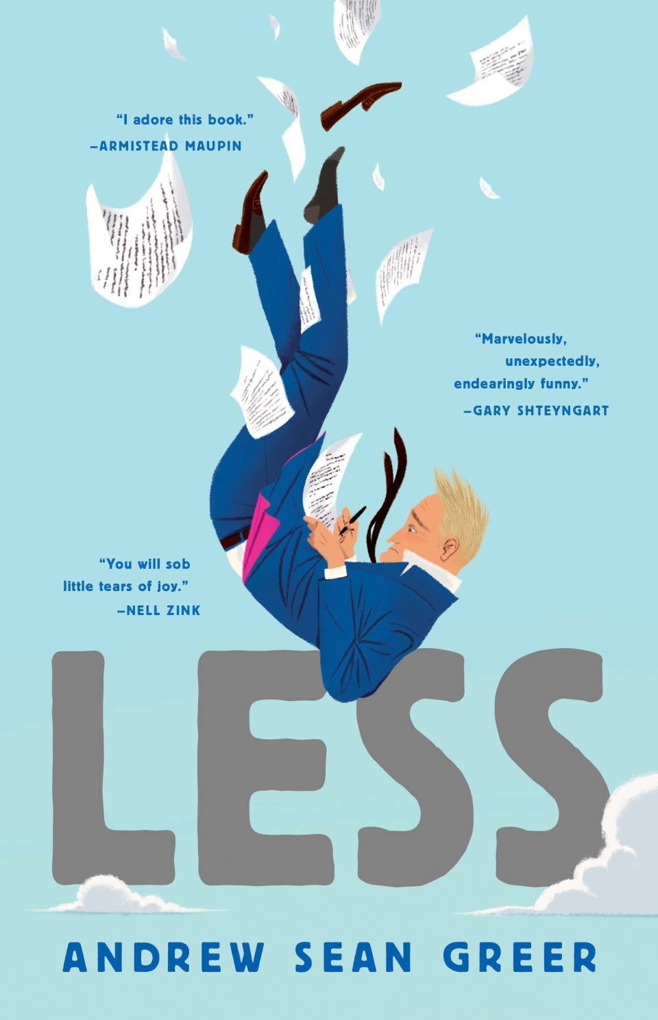 "This cover image released by Lee Boudreaux Books shows ""Less,"" a novel by Andrew Sean Greer.(Lee Boudreaux Books/Little Brown and Company via AP)"