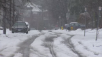 The snowfall broke a new daily record in Kitchener, according to Environment Canada.