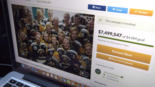 GoFundMe page for Broncos