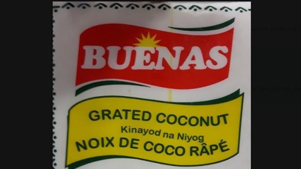 Buenas grated coconut