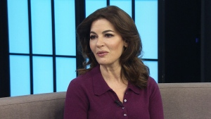 Nigella Lawson's new book is trying to show home c