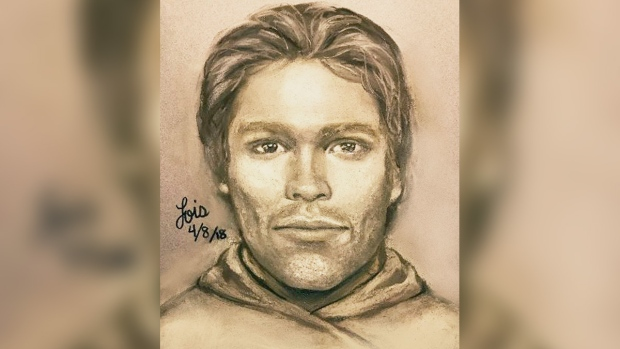 Sketch of man Stormy Daniels says threatened her