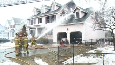 Two firefighters injured in Stittsville fire