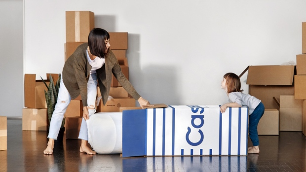 Casper mattress bed-in-a-box