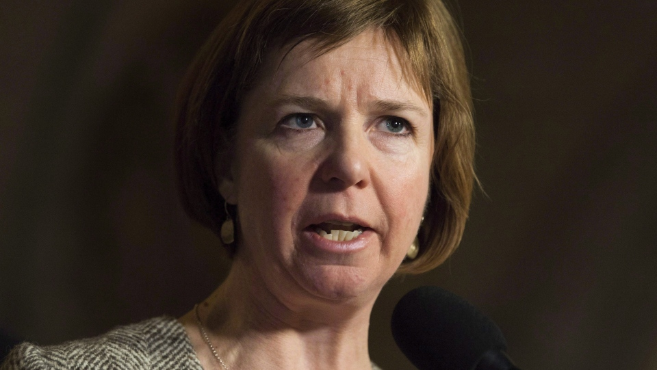 Sheila Malcolmson, B.C. Minister of Mental Health and Addictions, is pictured: November 30, 2017 (THE CANADIAN PRESS/Adrian Wyld)