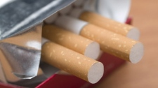 The four men made away with bags filled with cigarettes. (File)