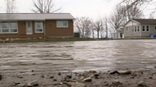 CTV Windsor: Leamington flood cleanup