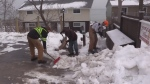 Cleanup continues after ice storm
