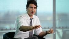 Prime Minister Justin Trudeau in London