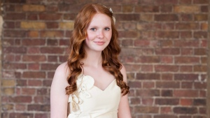 Faith Dickinson is shown in a handout photo. A 15-year-old Ontario girl who scored an invitation to Prince Harry and Meghan Markle's wedding says she's now being approached by designers who want to dress her for the big event. THE CANADIAN PRESS/HO-The Diana Award MANDATORY CREDIT