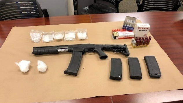 Drug bust by London police on April 17, 2018. (Supplied)