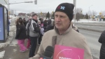 CUPE President Dave Shelefontiuk at HSN rally