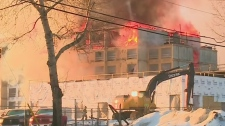 Hours needed to control Saskatoon hotel fire