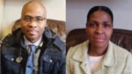 Dr. Rosemarie Cambridge (right) and Dr. Sean Liam Oscar Christopher Cambridge are seen in these undated images.