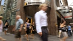 Commonwealth Bank branch in Sydney, Australia, on Feb. 9, 2011. (Rick Rycroft / AP)