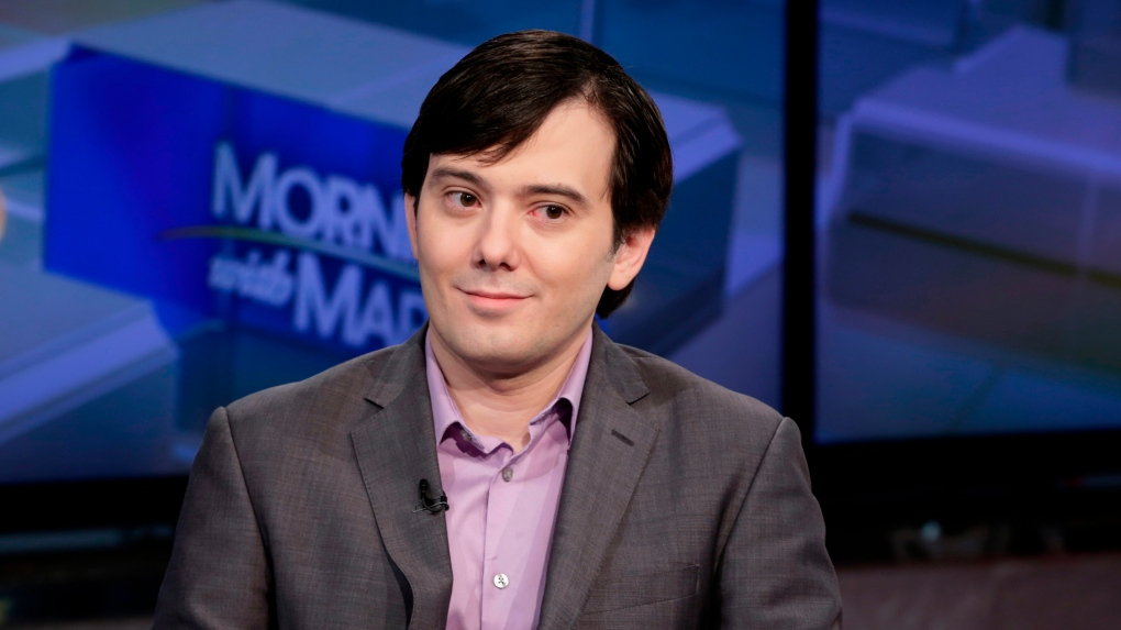 Martin Shkreli sues over ouster from pharmaceutical company